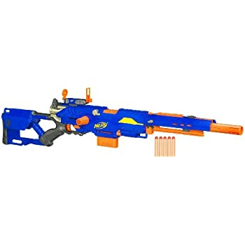 It's believed that the Helios is Nerf's solution to the awkward priming  mechanism on the Apollo. What's also neat about the Helios, is that the bolt  handle ...