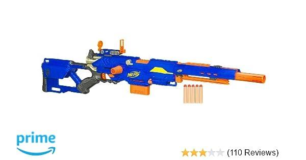 Amazon Com Nerf N Strike Longstrike Cs 6 Dart Blaster Discontinued