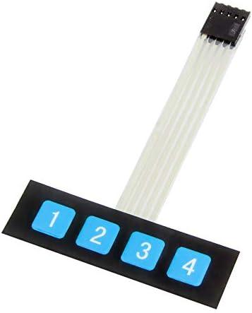Interruptor de teclado MissBirdler 4 Key Matrix para Arduino Raspberry Pi