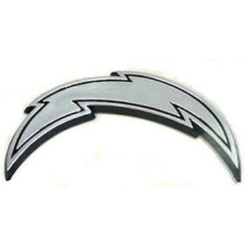 NFL San Diego Chargers Chrome Automobile - Outlet San Diego Mall