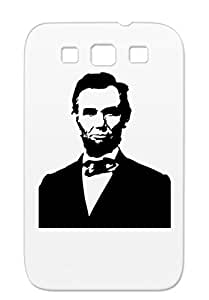 Dirtproof United States Symbols Shapes Lincoln USA President Abraham Us For Sumsang Galaxy S3 Black Cover Case