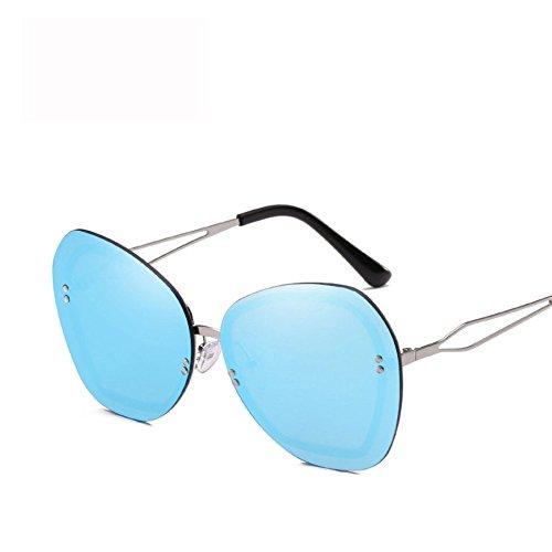 Diamante De Protection Moda Sports Marco A Metal E De Personalidad Irregular Unisex Sol GUOHONGCX De Gafas Eye Gafas Sol Wind Protector Trend Care Avant ETY4a