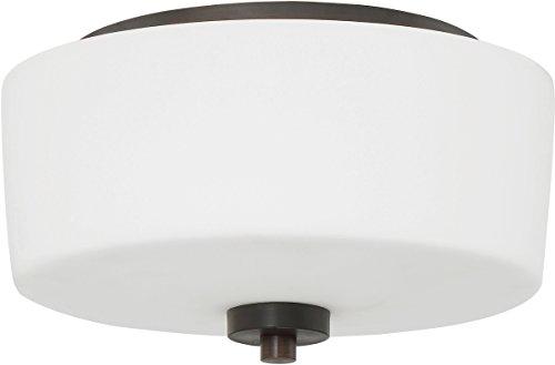 Craftmade 43582-ABZ Two Light Flushmount