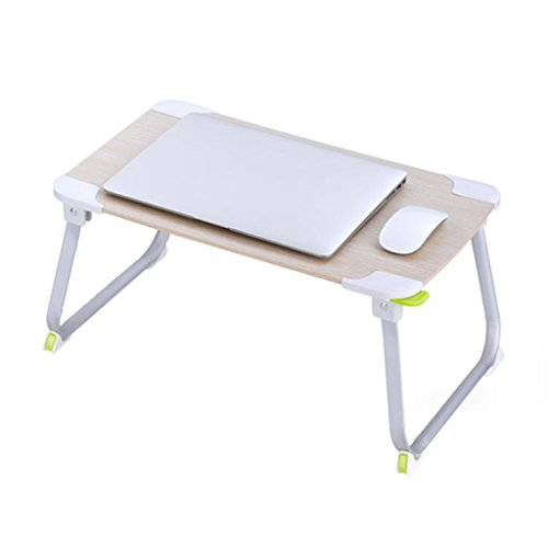 GFL Desks Laptop Computer Desk Bed Desk Table Home Mobile Folding Simple Lazy Small Tables Computer Tables by GFL