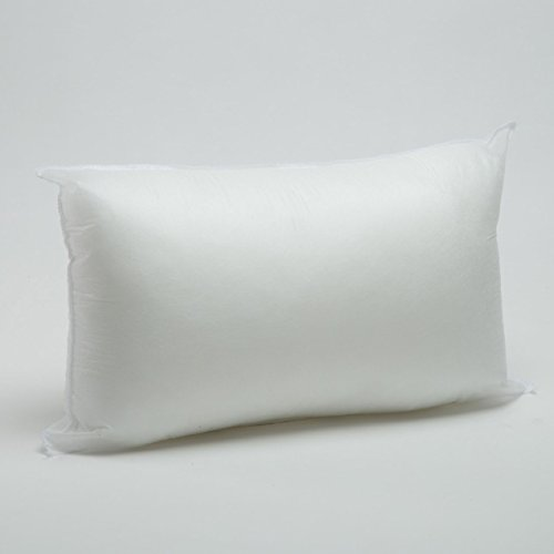 12″ x 20″ Pillow Form White Polyester