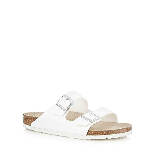 Birkenstock - Sandalias de vestir de Material Sintético para hombre Blanco blanco -