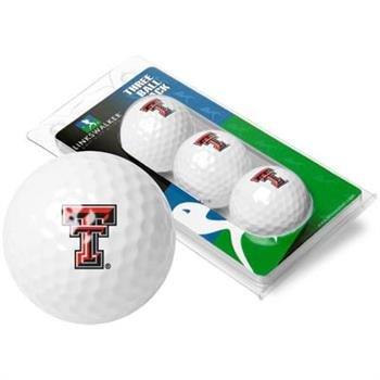 NCAA Texas Tech Red Raiders - 3 Golf Ball -