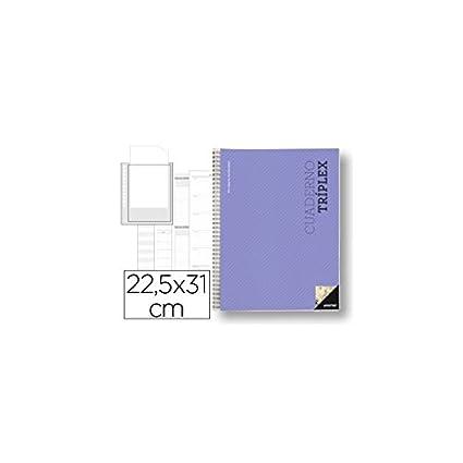 Additio P191 - Cuaderno Tríplex (catalán), Colores Surtidos
