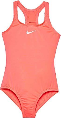 Nike Girl's Racerback Sport Swimsuit (Medium Pink, 8)