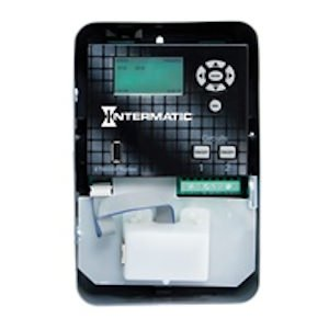 Intermatic ET90215CE Timer 30A 120-277V SPDT 365-Day Astronomic Energy Control with Type 1 Steel Enclosure