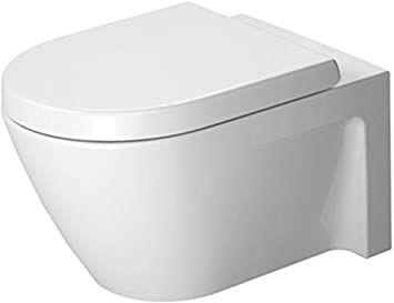 Duravit Starck 2 Wand-WC weiß 370 x 540 mm, 2534090000: Amazon.de ...