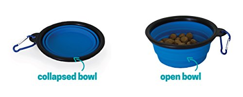 Ruff 'n Ruffus Portable Foldable Pet Playpen with Carrying Case & Collapsible Travel Bowl | Indoor / Outdoor use | Water resistant | Removable shade cover | Dogs / Cats / Rabbit | Available In 2 Sizes by Unleashed (Image #6)'