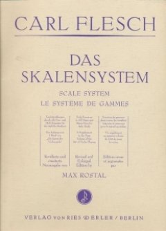 DAS SKALENSYSTEM - arrangiert für Violine [Noten / Sheetmusic] Komponist: FLESCH CARL - VL Gebundenes Buch Musikverlag Ries & Erler B0110TLAT4 GS101635