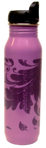 Gaiam Filagree Stainless Steel Water Bottle (750 ml)