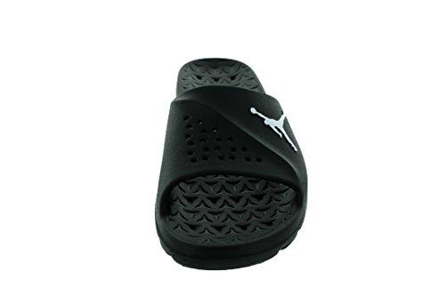 Jordan Nike Herren Super.Fly Team Slide Sandale Schwarz-Weiss