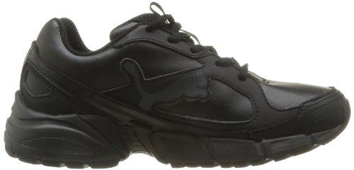 Puma Jr Axis2 Sl - Zapatillas de Deportes de Interior de material sintético niño negro - Noir (01)