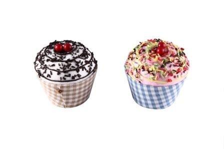 DISOK - Cajita En Forma De Tarrina De Helado Cupcake (Precio Unitario) - Cajas