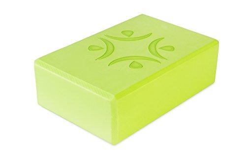 Fitness Republic Yoga Foam Brick Block, Green
