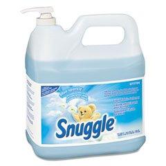 (3 Pack Value Bundle) DVO5777724 Liquid Fabric Softener, Blue Sparkle, Floral Scent, 2 gal, Bottle by DVO5777724
