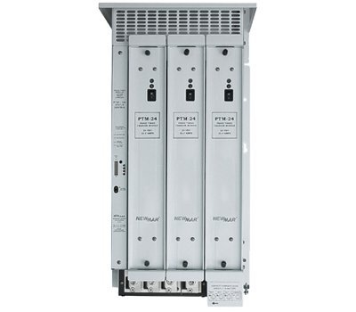 NewMar - PTMS-24-67 - Phase Three Modular Battery Charger, 3 Installed Modules, Max Output 67A @ 24 VDC ()