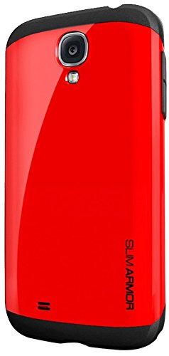 Spigen Slim Armor Galaxy S4 Case for Galaxy S4 - Crimson Red