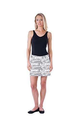 (Colorado Clothing Women's Everyday Skort (White Camo,)