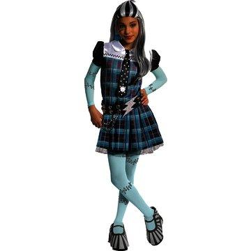 Frankie Stein Monster High Child XL Costume (Monster High Frankie Stein Costume Shoes)