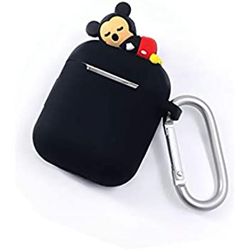 Amazon.com: Airpods Case Keychain,MeiQing Cartoon Animal