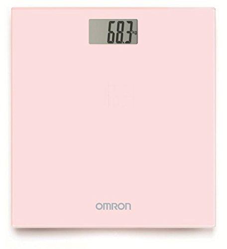 OMRON HN289 - Báscula de baño digital, 5 Kg a 150 Kg, pilas incluidas, color rosa: Amazon.es: Salud y cuidado personal