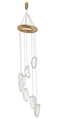 Natural Agate wind Chime - Natural agate slabs