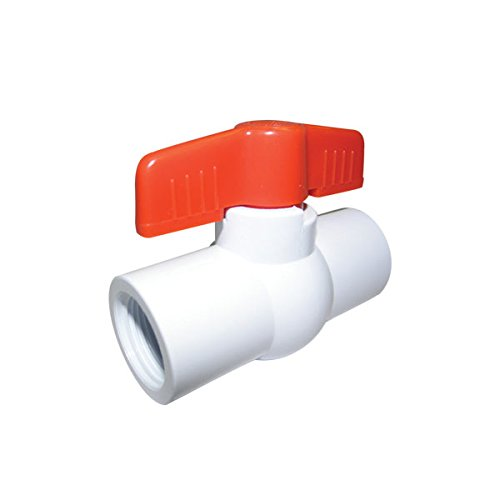 Red-White Valve 34RW1380E PVC Ball Valve Threaded, 3/4'' by Red-White Valve