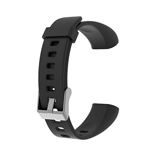moreFit Replacement Bands Straps for Fitness Tracker Solo (Black)