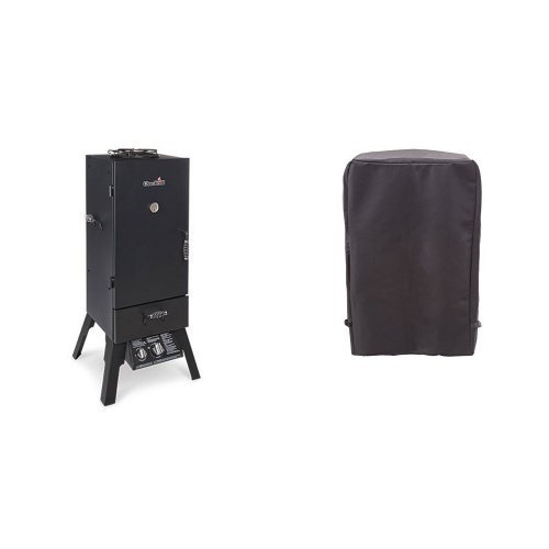 Char-Broil Vertical Gas Smoker + Cover
