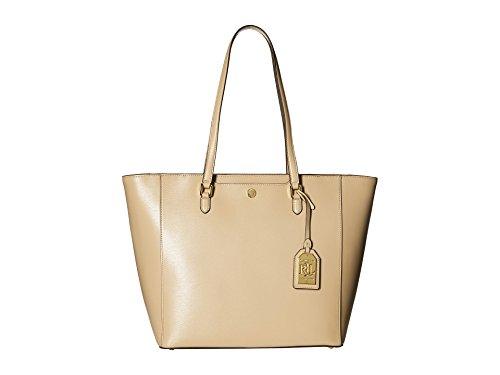 LAUREN Ralph Lauren Newbury Halee Tote Camel Tote Handbags
