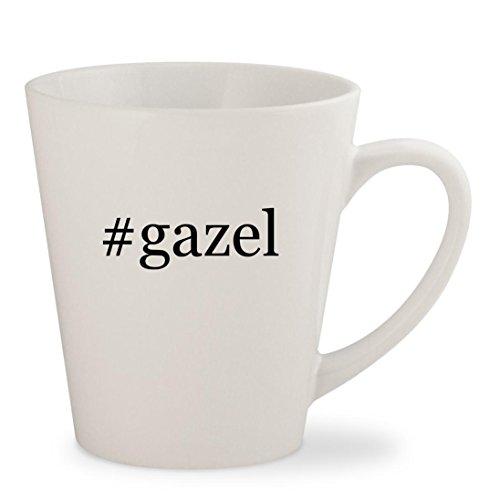 Price comparison product image gazel - White Hashtag 12oz Ceramic Latte Mug Cup