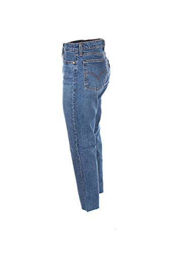 27 Medium Levis Jeans Femme Wedgie Denim 34964 Blue Straight 8xqY1n6q