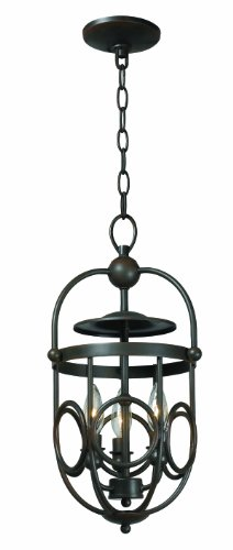 World Imports 3523-42 Belle Chasse Collection 3-Light Pendant, (Bella 3 Light Pendant)