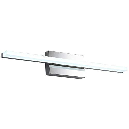 Upon Sun Modern LED Vanity Bathroom Mirror Light,Gallery Wall Light,Waterproof Antifogging Acrylic -