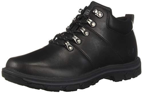 Skechers Men's Segment-VENARO Ankle Boot Black 11 Medium US