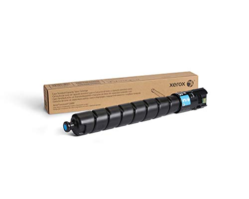 Genuine Xerox Cyan Standard Capacity Toner Cartridge (106R04062) - 12,300 Pages for use in VersaLink C9000 (Standard Capacity Cyan Cartridge)