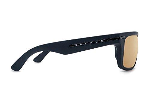 Men's Rectangular Black Grip Burnet Polarized Kaenon Sunglasses Matte dS1zdw