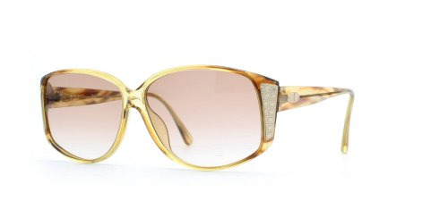 Christian Dior 2802 11 Brown and Gold Authentic Women Vintage - Sunglasses Dior Christian Vintage