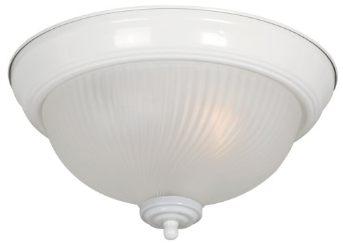Hardware House 543975 11-Inch by 5.88-Inch Ceiling Fixture White by Hardware House