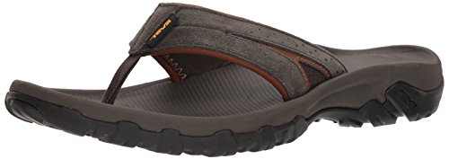 Teva Mens Men's M Katavi 2 Thong Sport Sandal, Black Olive, 9 M (Athletic Thong Sandals)