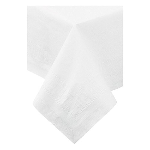 Cpc Four - Hoffmaster 210046 CPC 54 x 54 in. 3-Ply Table Cover - White44; Case of 50