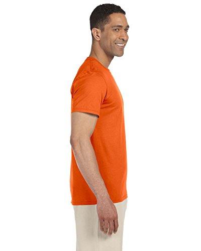 I E X nbsp;confezione Da Taglie In Disponibile 5 Gildan Small Maglietta Unita Le 5 Uomo Orange Tinta Colori Pezzi A Tutti 7Cd5H56