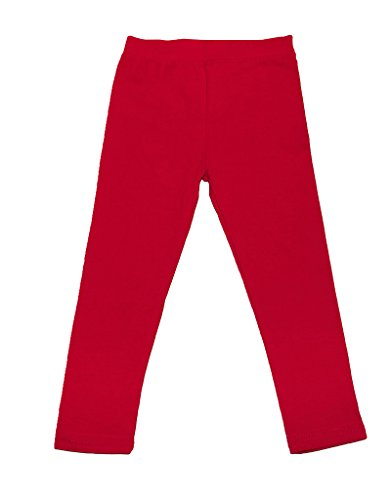 Solid Red Leggings - 6