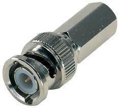 27-9202 BNC Plug Twist-On for RG58A/U Coax Cable (1 piece) ()