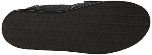 Sanuk On Women's Loafer Pocket Pick Slip Charcoal Fleece aUSaq7C