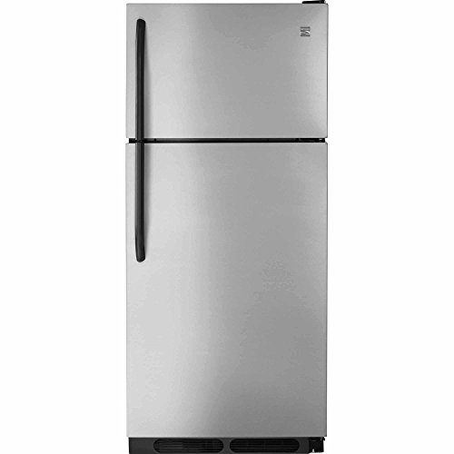 Kenmore 04660383 16 cu. ft. Top-Freezer Refrigerator, includes delivery and hookup, Stainless steel